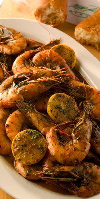 Mr. B's barbequed shrimp recipe