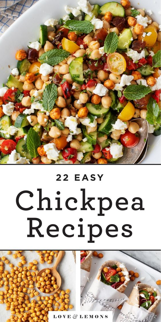 22 Easy Chickpea Recipes - Love and Lemons