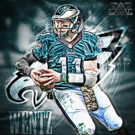 Carson Wentz  Philadelphia Eagles  Pinterest  Fly