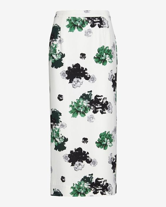 A.L.C. A.L.C. Floral Pencil Skirt on shopstyle.com  #Floral #Pencil #Skirt