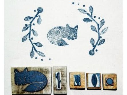 fabric stamping - Google Search