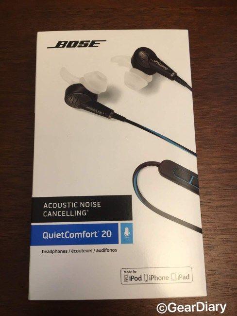 Bose Quietcomfort 20 In Ear Headphones Review In Ear Headphones Headphones Review Headphones