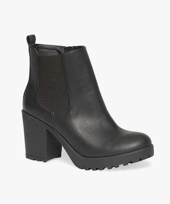 Noir Gemo, Talon Noir, Chaussures, Boots Crantées, Melie, Clog, Geta, Patten, Sabot