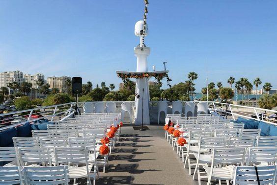 Outdoor Wedding - Yacht Starship Deck