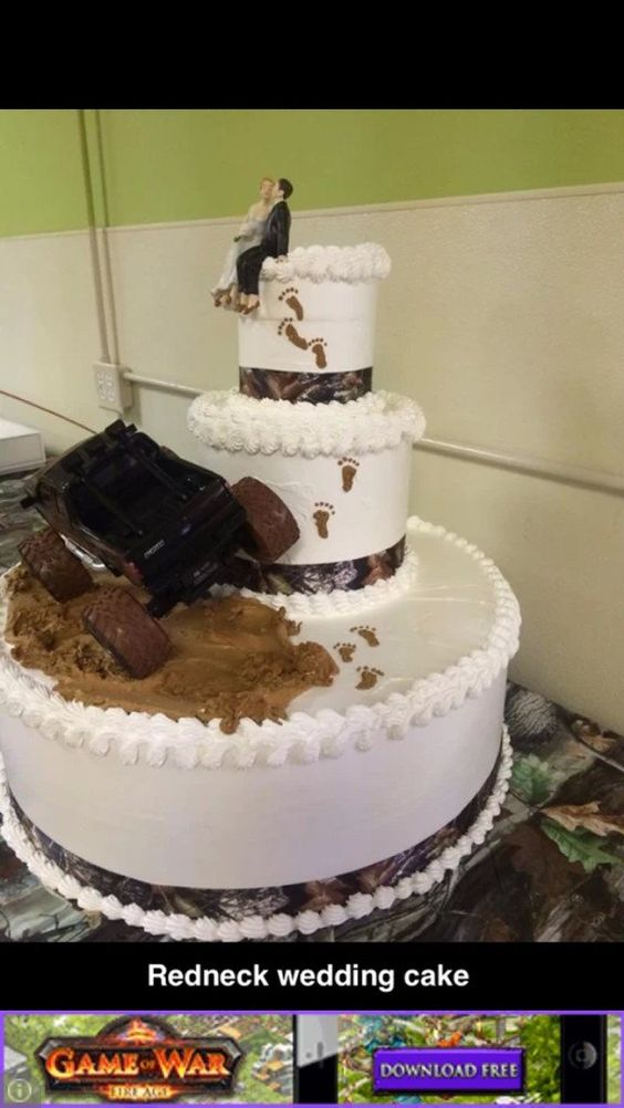 hillbilly wedding cake wedding cake wedding ideas 15235