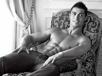 Cristiano Ronaldo, only THE HOTTEST soccer player known to man. Mmmmmmmmmmmmmmmmmm.