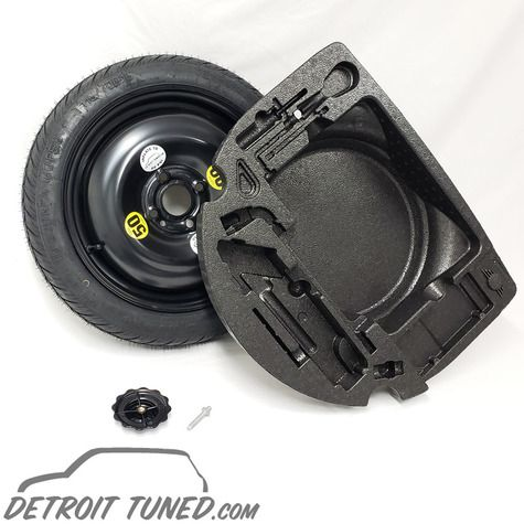 Mini Cooper R55 Clubman Spare Tire Kit Mini Cooper Clubman Spare Tire