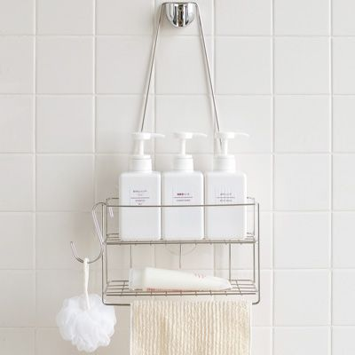 シャワーフックに吊るすタイプのシャワーラック