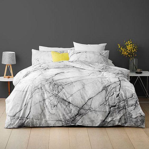 Marble Quilt Cover Set | Target Australia