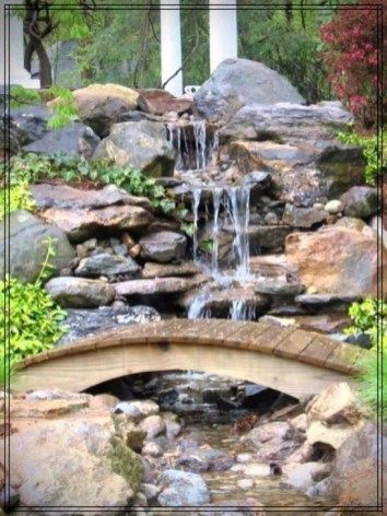 Cozy Diy Outdoor Waterfall Ideas For Beautiful Decoration 42