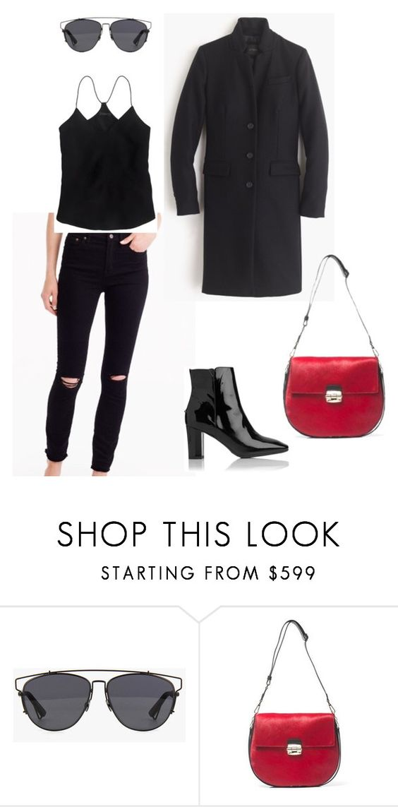 """""""Sin título #203"""" by ivvaaa ❤ liked on Polyvore featuring Christian Dior and Furla"""