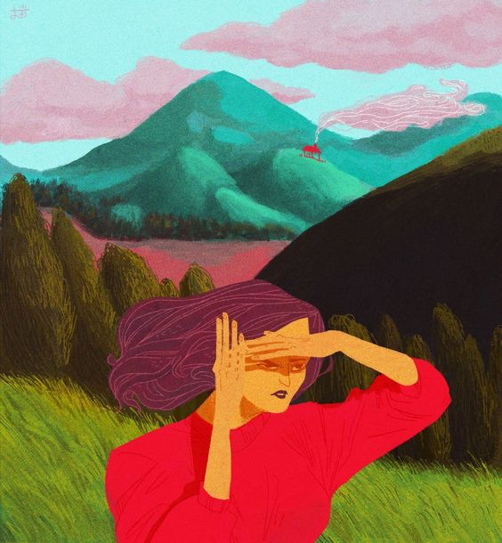 Ilustrações minimalistas e surreais de Camelia Pham | IdeaFixa