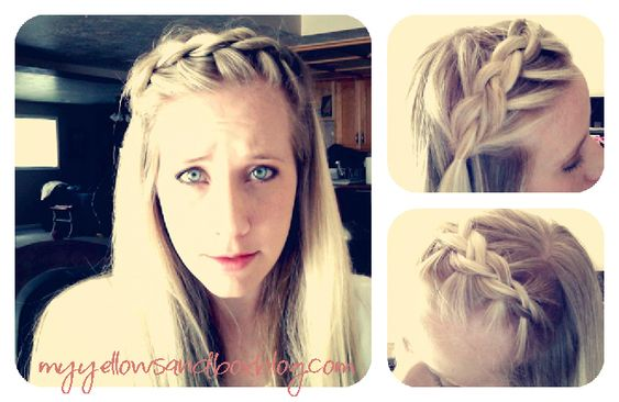 My Yellow Sandbox: A Boho Braid Tutorial