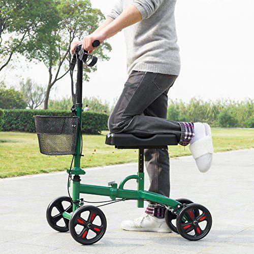 Knee Roller Walker Crutch Alternative Steerable Knee Scooter 4
