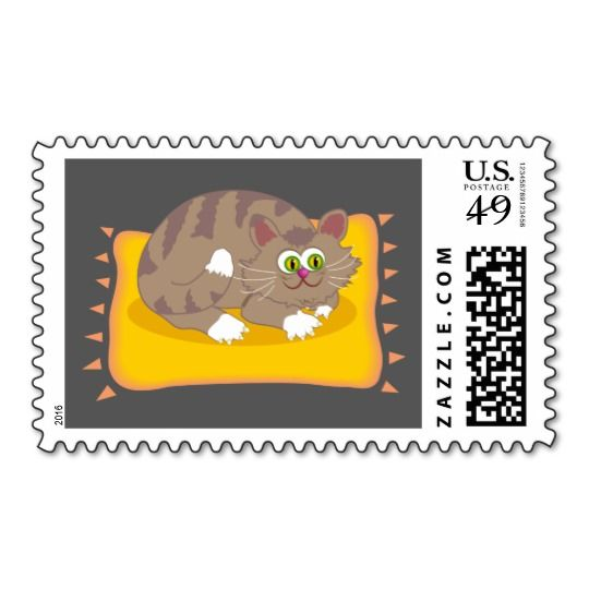 Animated Cat Stamp