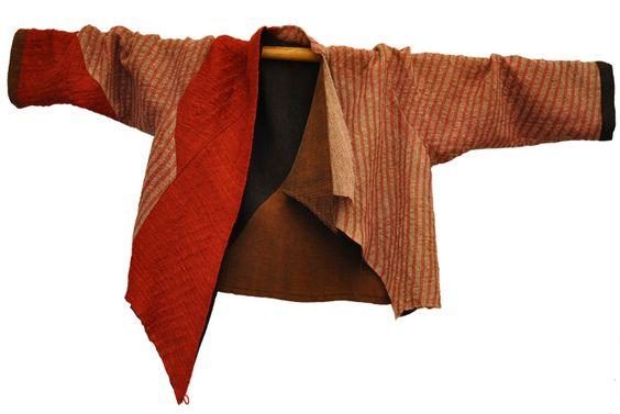 veste laine & soie