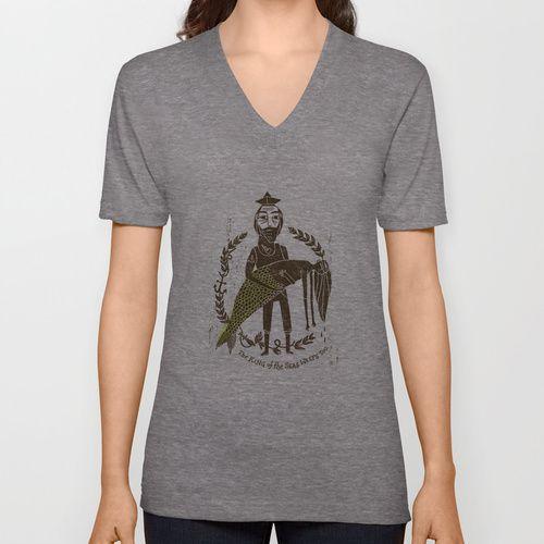 King of the Seas No. 2 V-neck T-shirt
