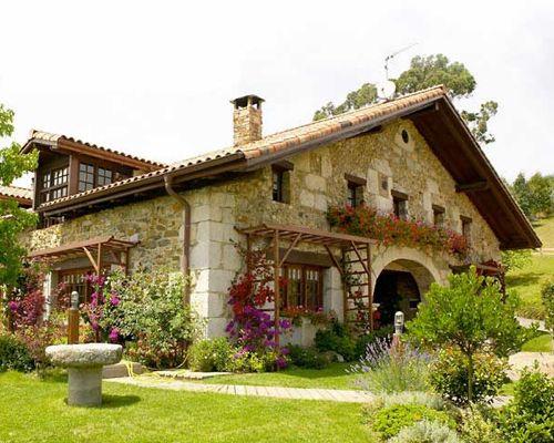 Casas rurales decoracion casas rusticas pinterest - Decoracion casas rurales ...