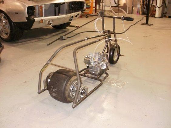 Gymi's Garage: Mini Bike Drag Racing