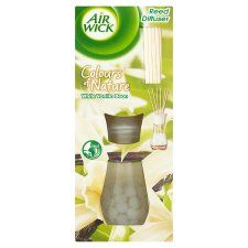 Airwick Reed Diffuser White Vanilla - Groceries - Tesco Groceries