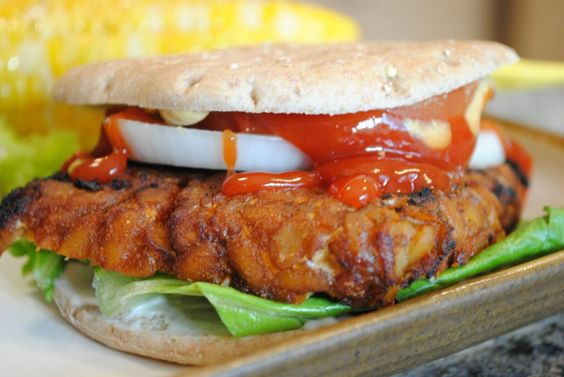 Asian-Style Tempeh Burger   https://www.facebook.com/photo.php?fbid=10151320374425216=a.81419345215.90513.38980380215=1