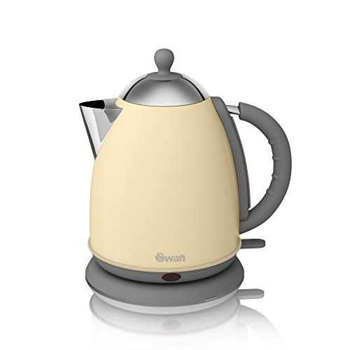 SwanRetro Dome Kettle 1.7L Red | DailyMail