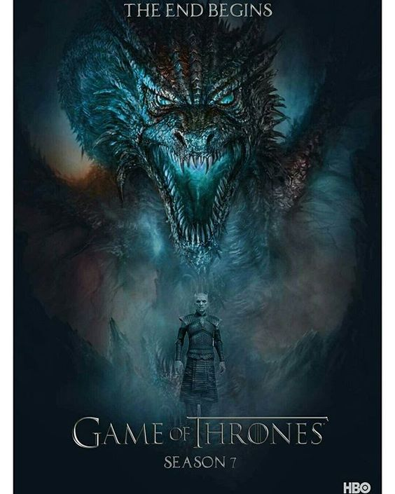 I can't get enough of these fan made posters for Season 7!