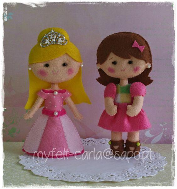 W.I.P. Bonequinhas e princesas...
