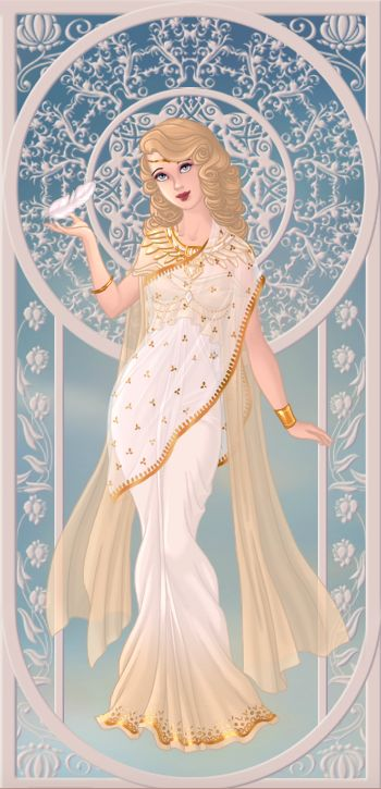 Eirenne, déesse de la paix (on azalea's dolls):