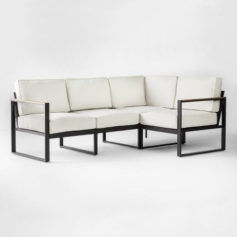 Henning Patio Sectional Project 62 Target Patio Sectional Patio Furniture Collection Outdoor Sofa