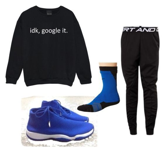 """Untitled #4"" by shoegamemean ❤ liked on Polyvore featuring Freaker, YOSHIO KUBO and NIKE"