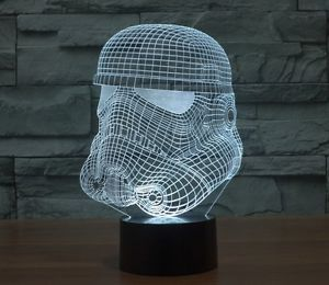 Star Wars Stormtrooper Helmet Multi-Coloured Night Light | eBay