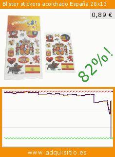 Blister stickers acolchado España 28x13 (Juguete). Baja 82%! Precio actual 0,89 €, el precio anterior fue de 4,82 €. https://www.adquisitio.es/tac/blister-stickers
