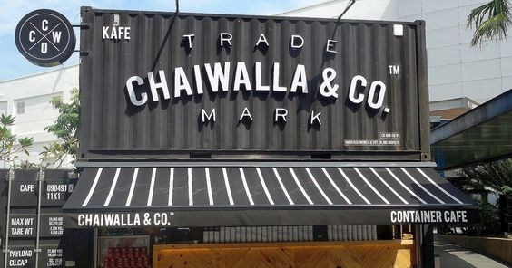 "Ideal for this Instagram age, Chaiwalla & Co could be the Klang Valley's first ""container cafe"" _ an eye-catching construct of converted ..."