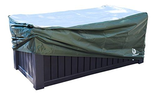 Yardstash Heavy Duty Waterproof Deck Box Cover Protects From