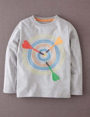 I've+spotted+this+@BodenClothing+Stitch+Logo+T-shirt+Grey+Marl/Target