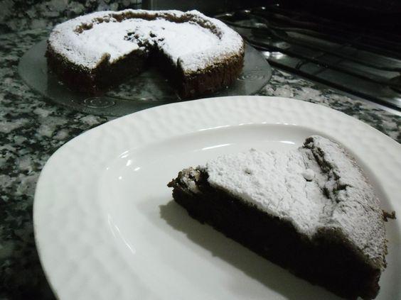 cake húmedo #chocolate