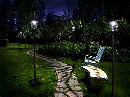 65 Street Vintage Outdoor Garden Leds Bulb Solar Lamp Post Light Lawn Adjustable Outdoor Lamp Posts Solar Lamp Post Light Solar Lamp Post
