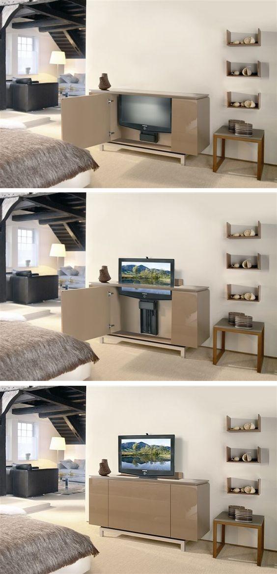Motorized tv lifts electric flat screen tv lift tvlift for Motorized lift for tv