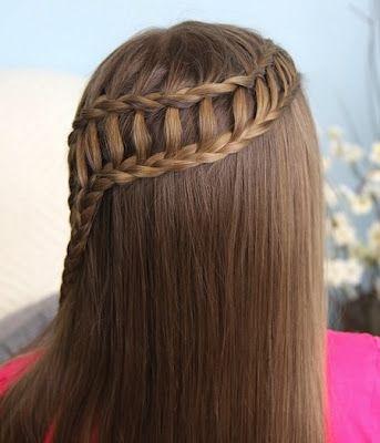 29 Peinados Con Trenzas ♡Cascada Mujeres 16 Ideas y paso a paso para trenza cascada