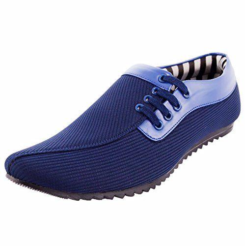 Money Men's Blue #canvas Casual #shoes