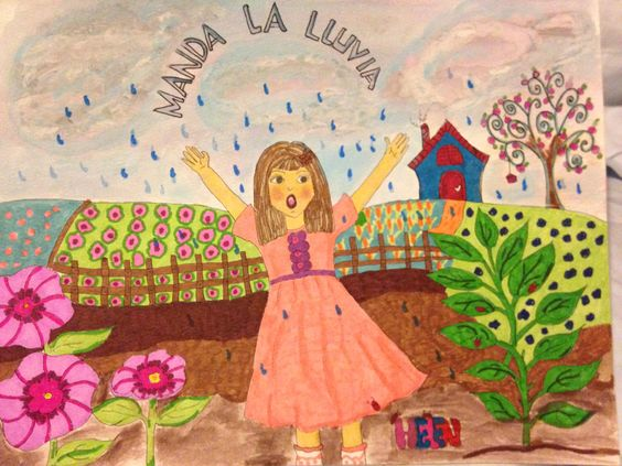 Manda la lluvia is a painting by Helen Robles Cofone
