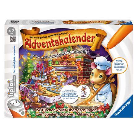 RAVENSBURGER tiptoi® Adventskalender 2015 00738 #Ravensburger #TipToi #Weihnachtsbäckerei #Adventskalender #Weihnachtskalender #Adventszeit #Türchenöffnen #24Kläppchen #24Türchen