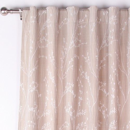 Lauryn Curtain Panel by JYSK $29.99 / panel. Comes in taupe with ...