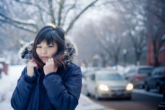 explore winter street styles