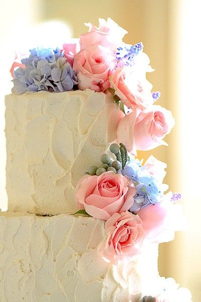 New Beautiful Cake Images : Buttercream frosting is the new fondant...such a beautiful ...