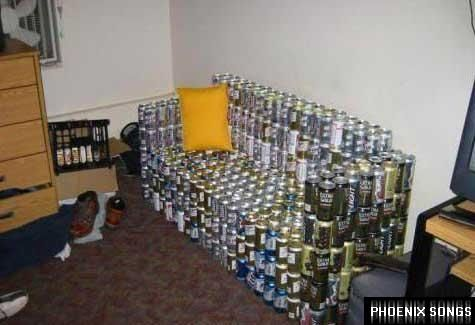 Beer Couch