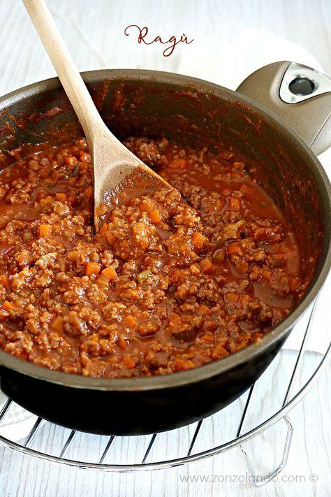 Ricette Per Bolognese.Ragu Di Carne Di Nonna Elba My Grandmother Bolognese Sauce Italian Traditional Recipe From Zonzolando Com Ricette Pasti Italiani Ricette Di Cucina