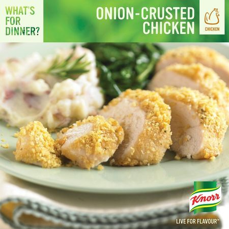 Onion Crusted Chicken