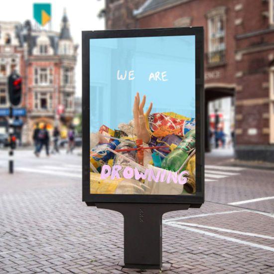 Hot Item Outdoor Waterproof Street Led Light Box Mupi In 2020 Led Light Box Light Box Led Lights